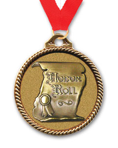 ?Honor Roll Medallions | Medals for Graduation Honors?