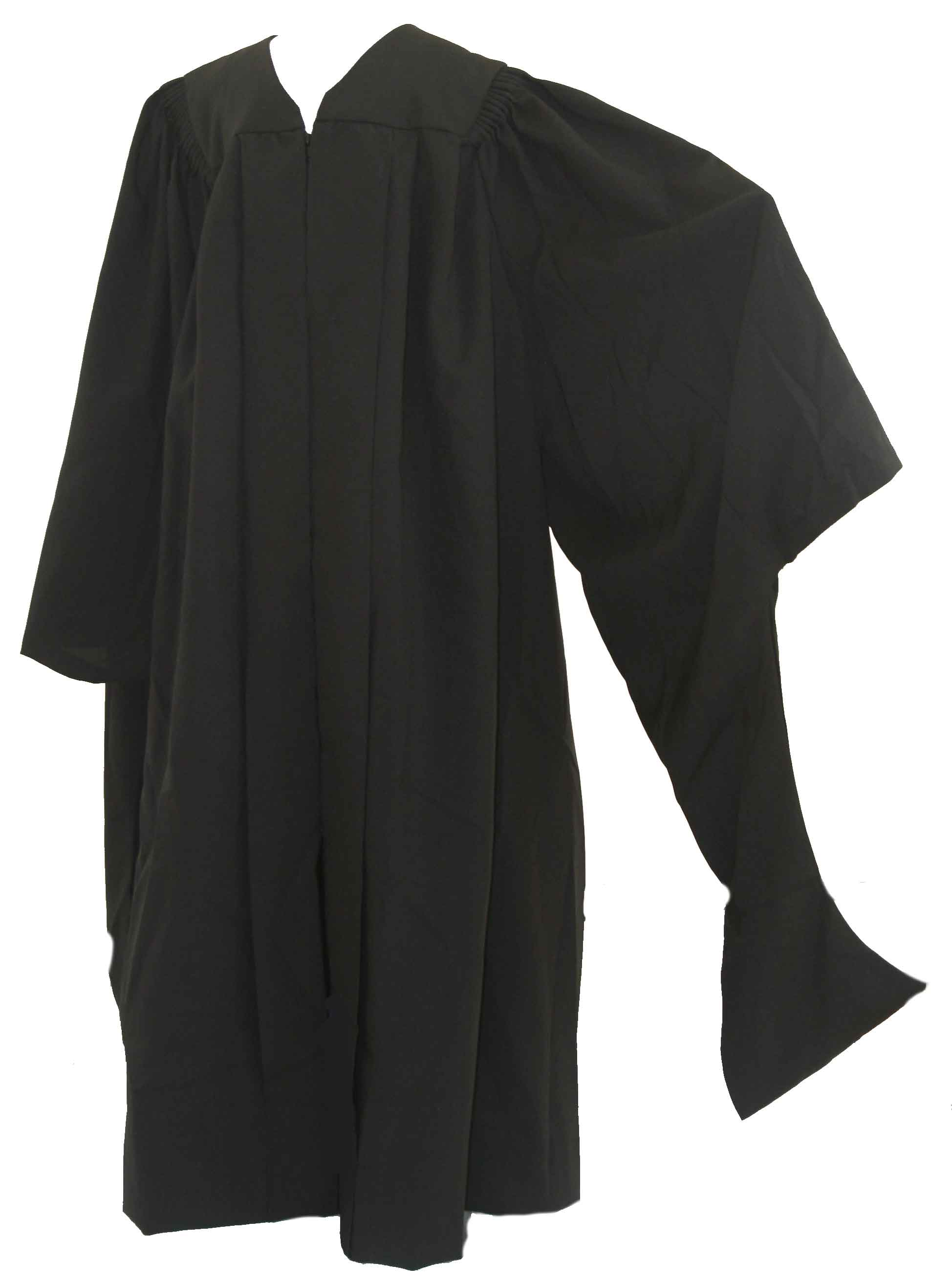 Masters Gown with Bat-Wing Sleeves Gown, Faculty, masters
