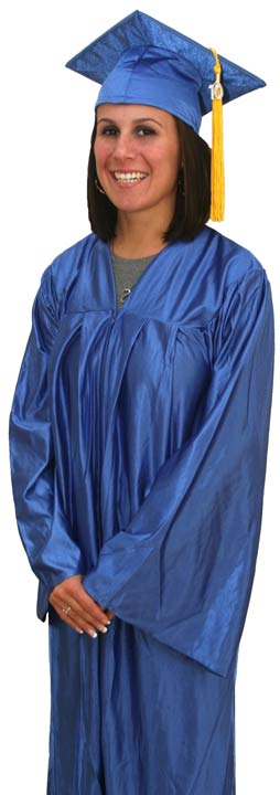 Graduation Cap and Gown, Cap and Gown, High School Cap and Gown