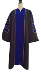 Ultimate Doctoral Gown Oxford Gown,doctoral, PHD,doctor,dr,cambridge,Ph D., university,faculty