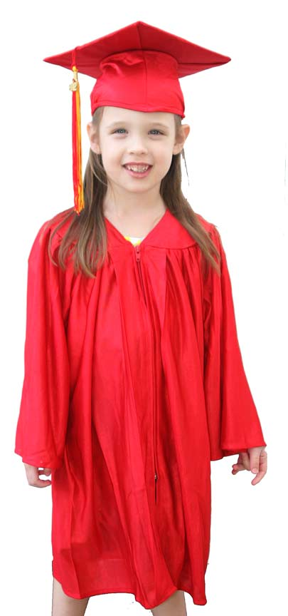 Cap and Gown Set | Small Cap and Gown | Preschool Cap and Gown ...