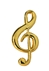 Clef Note Pin
