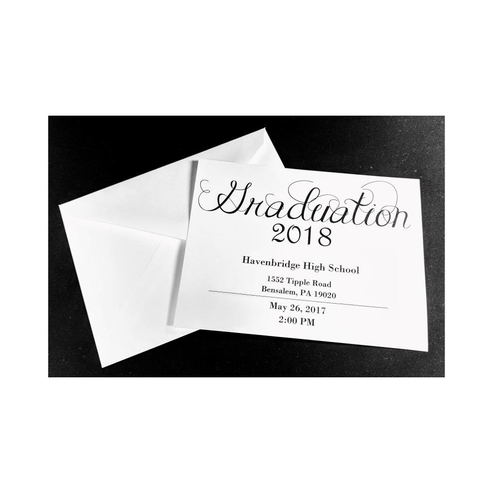 Graduation Invitations | Flat Invitation
