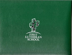 Diploma Cover with Printed Logo