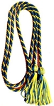 Variegated Cords (stock) Variegated Cords, Intertwined Cords, Honor, Honor Cords, Honor Society, Graduation, Ceremony, cords and tassels