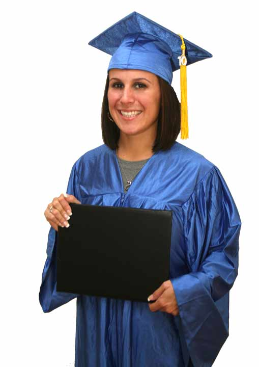 Cap Gown Diploma and Gown Package