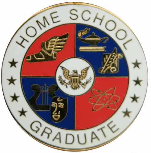 Home School Medallions | Graduation Medals for Home School Graduates