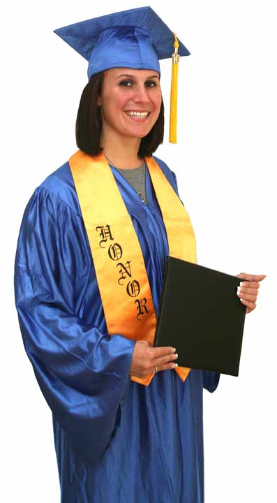 Cap and Gown Graduation Package